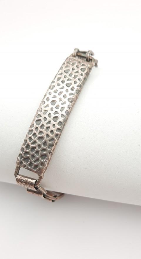 Dövme Tasarım Gümüş Bileklik