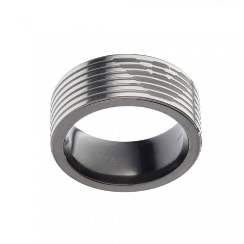 Emporio Armani AJEGS2182-060515 Çelik Yüzük