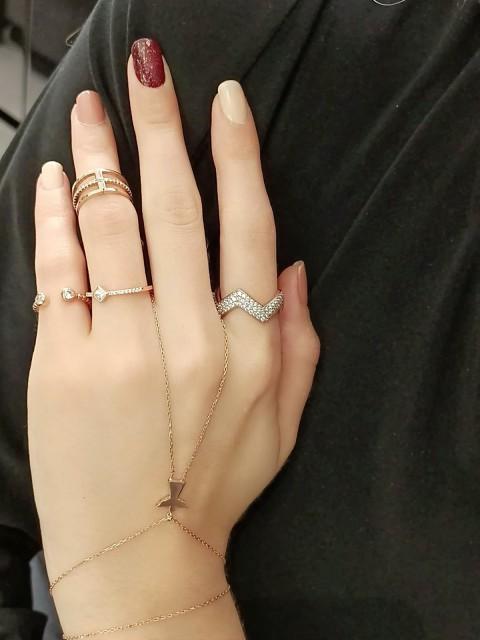 Minik Melek Figürlü Gümüş Şahmeran