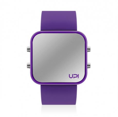 Up! Watch Led Purple Kol Saati