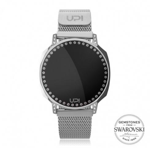 Up! Watch Xt Swan Silver Swarovski® Zirconia Kol Saati